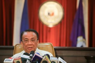 Ex-chief justice Bersamin receiving threats: SC