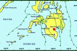 Magnitude 4.0 quake shakes Cotabato