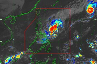 Typhoon Ramon almost stationary, landfall seen by Monday: PAGASA