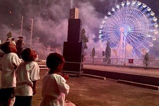 Aeta quake victims treated to Pampanga's 'biggest lantern of hope'