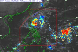 Signal no.2 up in 4 areas as Ramon intensifies ahead of landfall