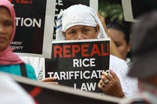 'Repeal Rice Tariffication Law'