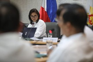 Robredo battles 'condescension, mansplaining' as new anti-drug chief