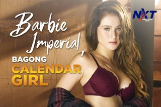 Barbie Imperial, bagong calendar girl