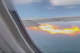 Probe starts on PAL plane's engine blaze