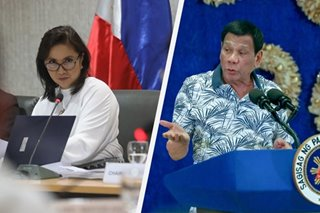 Robredo camp tells Duterte: 'Why be insecure if you have a 91 percent approval rating?'