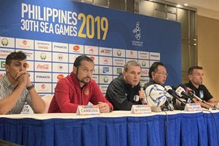 SEA Games: Football coaches downplay arrival woes ahead of competition