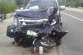 3 patay sa banggaan ng motorsiklo, pickup truck sa Isabela