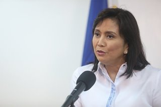 TIMELINE: What Robredo did during her short stint as anti-drug body chief