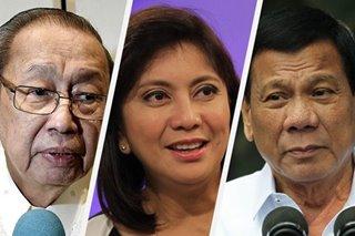 'Pasinto-sinto': Joma blasts Duterte over Robredo firing