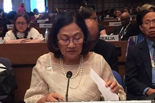 Filipina to lead Asia-Pacific review of UN resolution advancing women's rights