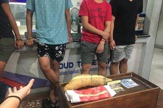Kangkong daw? 4 timbog sa pagbebenta ng 'marijuana' sa QC