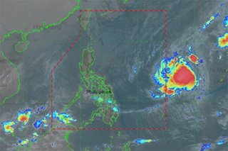 Looming typhoon's track like deadly storms Glenda, Reming