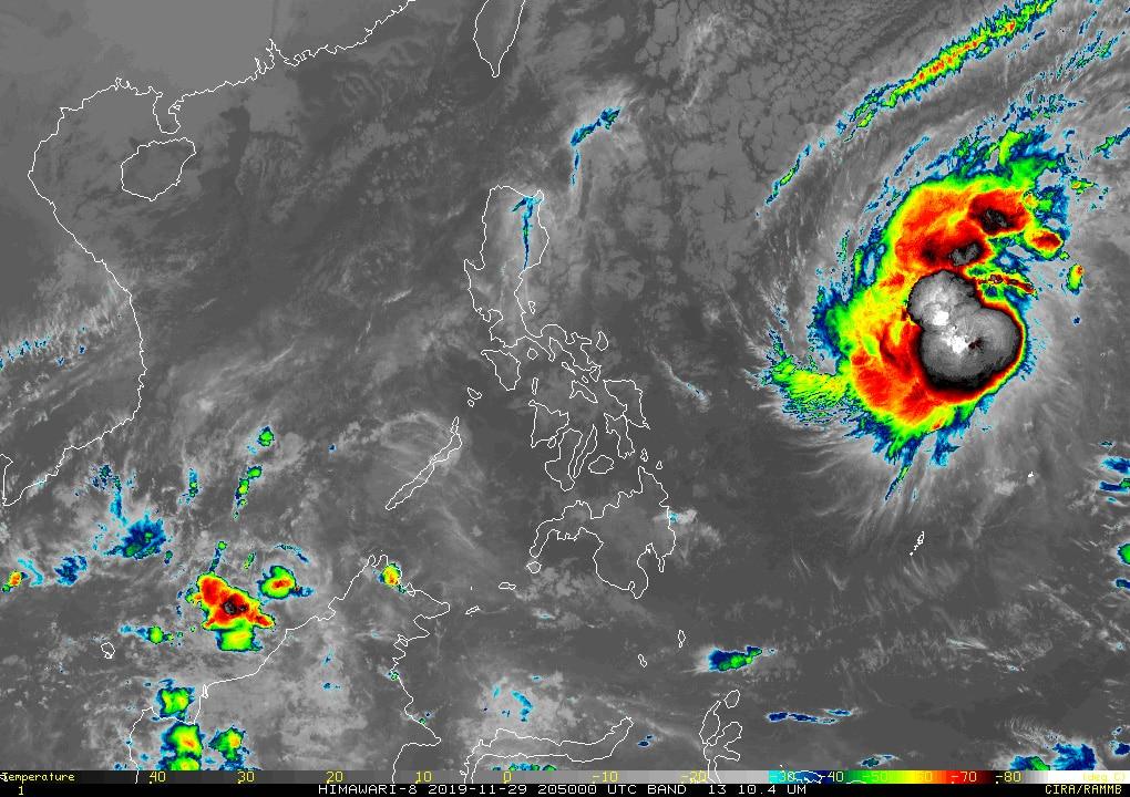 Typhoon Kammuri gathers strength as it nears the Philippines 1
