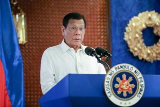 Duterte orders all gov't agencies to be on alert for Tisoy