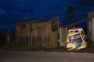 Bagyong Tisoy nag-iwan ng matinding pinsala sa Bicol, Eastern Visayas
