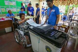 Comelec tests voting process for PWDS