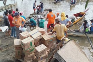 DSWD: P5 million in aid sent to areas affected by Typhoon Tisoy