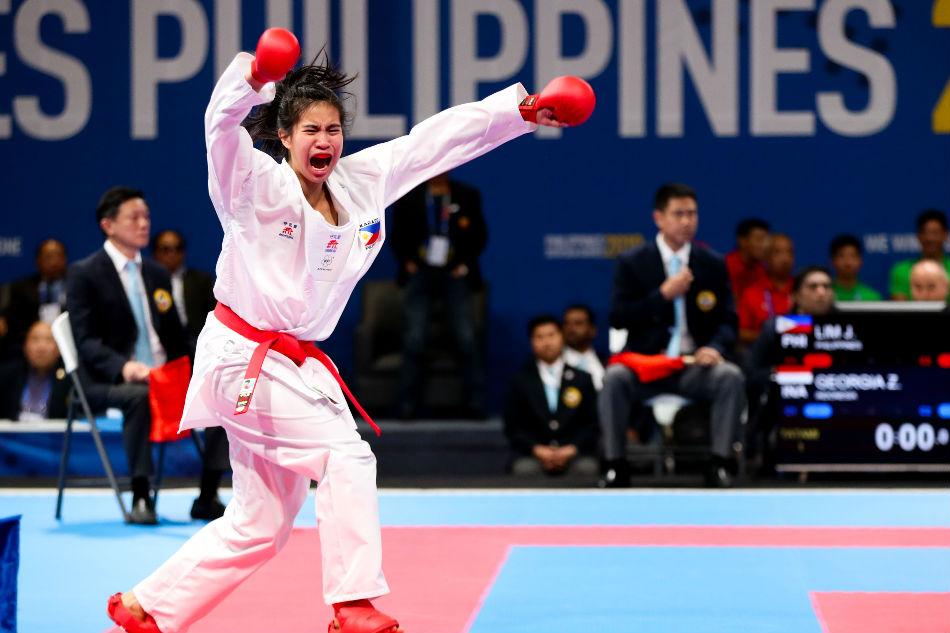 SEA Games: Samboy Lim's daughter Jamie Lim gets PH's second karate gold 1