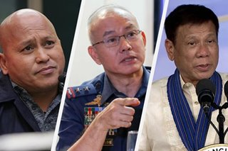 Dela Rosa hesitant to recommend new police chief after Albayalde's ninja cop controversy