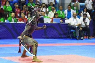 SEA Games: 'Proud Igorot' fought for right to wear bahag in arnis competition