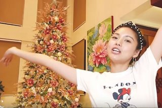Why Kim Chiu chose pink decor for her Christmas tree