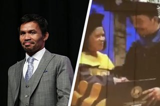 Pacquiao graduates from University of Makati