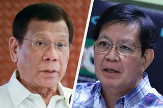 Duterte veto is 'only hope' vs 2020 budget insertions - Lacson
