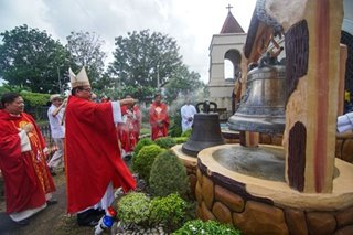 Celebrating the homecoming of the Balangiga bells
