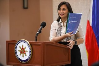 Gov't drug war data scrutinized in upcoming Robredo report