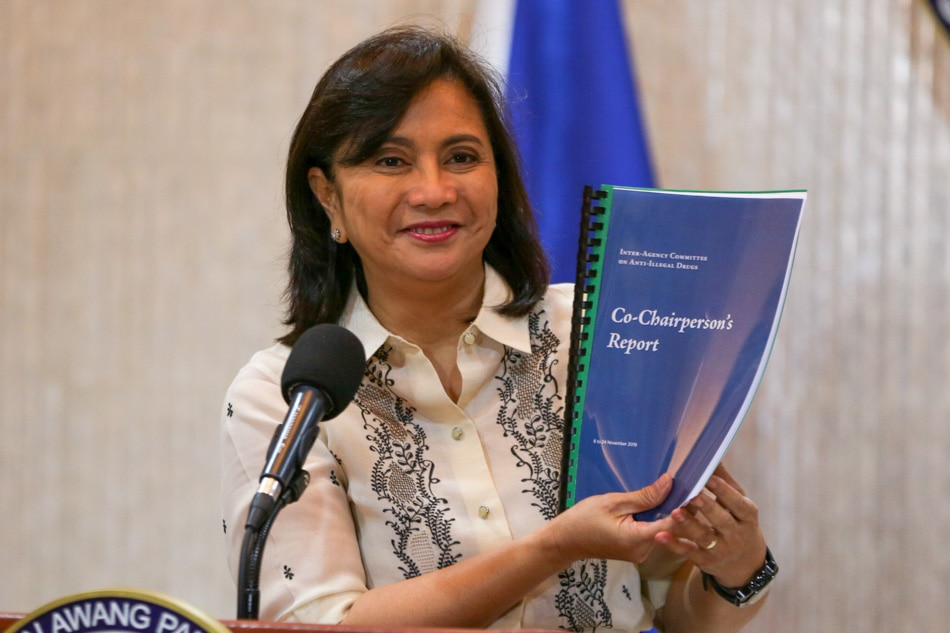 VP Robredo defers release of drug report, focuses on earthquake relief