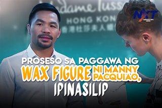 Proseso sa paggawa ng wax figure ni Manny Pacquiao, ipinasilip