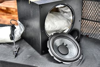 Over P141 million worth of shabu hidden in speakers seized in Pasay