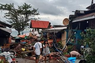 LOOK: Ursula leaves trail of destruction in Biliran town