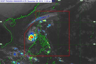 Ursula moves over West PH Sea, to dampen Calamian Islands