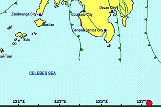 Magnitude 4.1 quake hits Davao Occidental; no damage expected