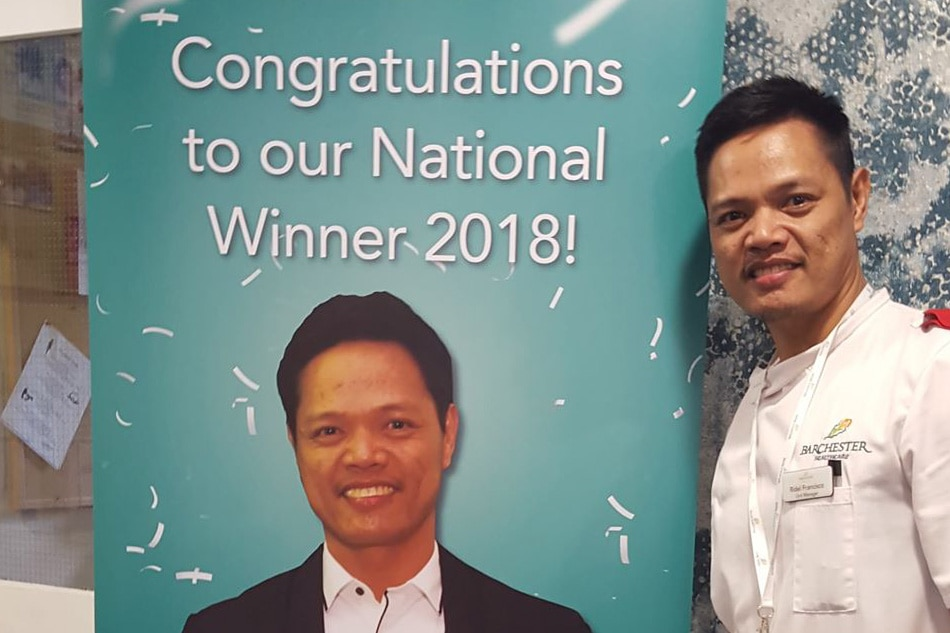 Filipino farmers' son is UK's Nurse of the Year