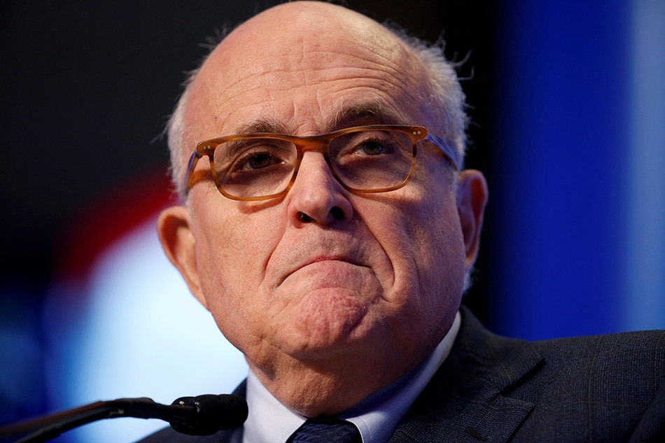 Rudy Giuliani Changes His Story: 'I Never Said There Was No Collusion'