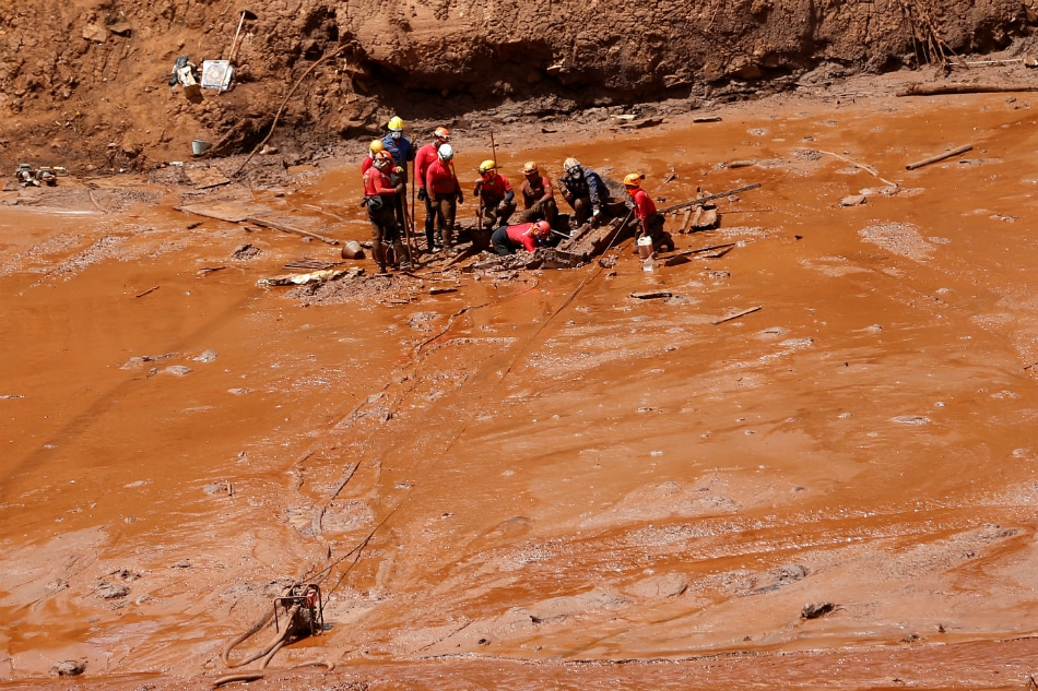 Drainage problems detected in collapsed Brazil dam