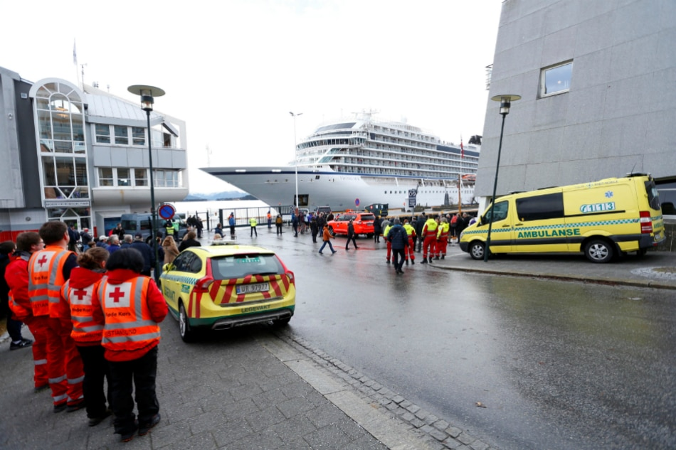 Cruise Ship Reaches Norway Port After Near Disaster