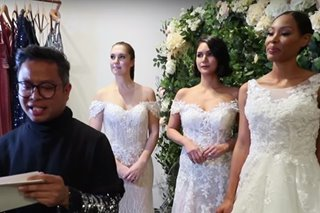 Pinoy designer offers affordable wedding dresses to New Yorkers