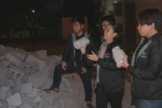 UP students, panalo sa Canada dahil sa naimbentong concrete products