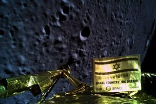 Israeli spacecraft crashes on moon after technical failures