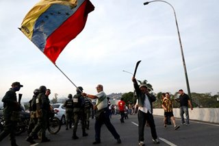 How the world is reacting to Venezuela 'coup bid'