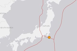 Earthquake hits Japan; no tsunami warning issued: report