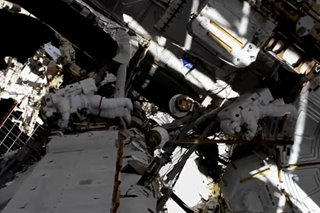 US astronauts embark on first all-female spacewalk in history