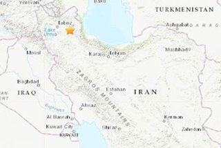 3 killed, 20 injured in Iran earthquake: state television