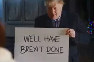UK PM Boris Johnson copies 'Love Actually' spoof