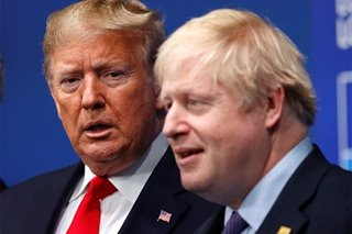 Trump invites Britain's Johnson to White House in new year - report
