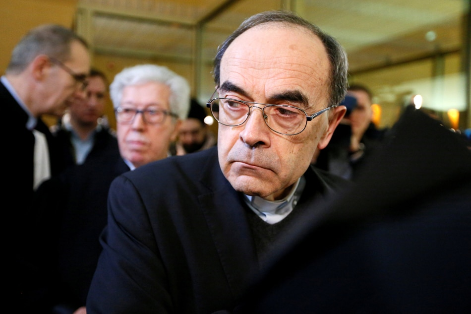 French cardinal found guilty of failing to act on sexual abuse allegations